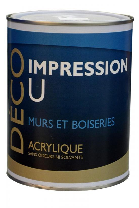 Impression U acrylique : Impression U acrylique 1L