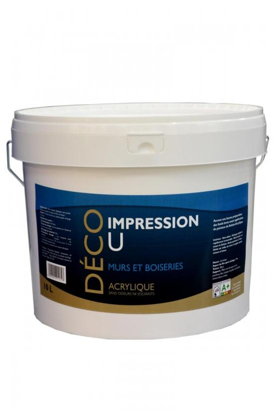 Impression U acrylique : Impression U acrylique 10L