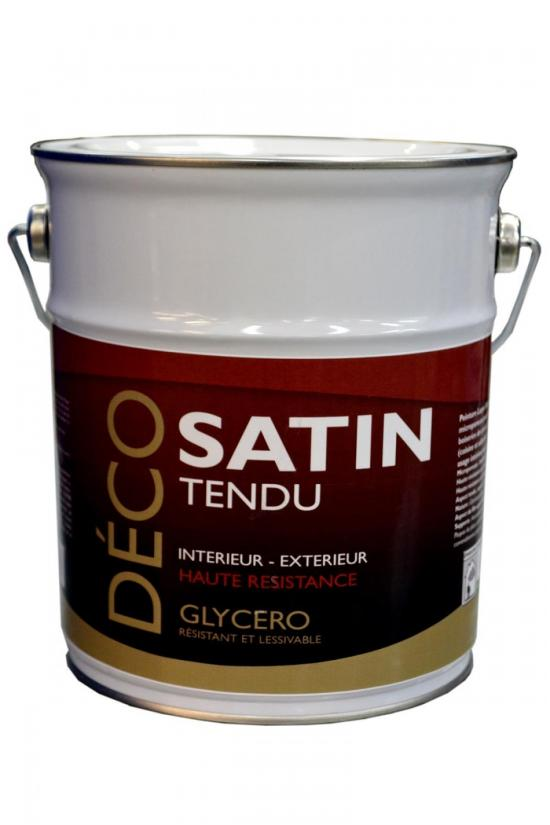Satin tendu : Satin tendu 2.5L