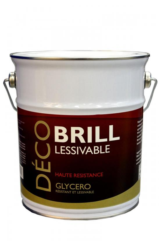 Solemur brill for Peinture glycero lessivable